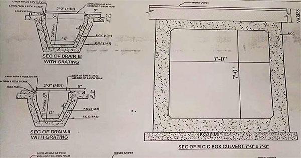 Culverts Drawing Plan at Site   Basic Highway Plan Reading